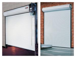 Rolling Steel Commercial Garage Door Installation - Clegg Brothers - Hudson Valley