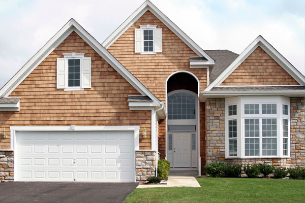 Raised Panel Garage Door Installation - Clegg Brothers - Hudson Valley
