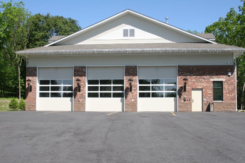 Commercial Garage Door - Overhead Door with Fullview Glass Sections