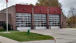 Commercial Garage Door - 14x14 Glass Sectional Doors