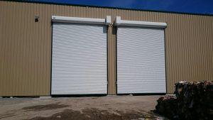 Commercial Garage Door - Rolling Steel Door